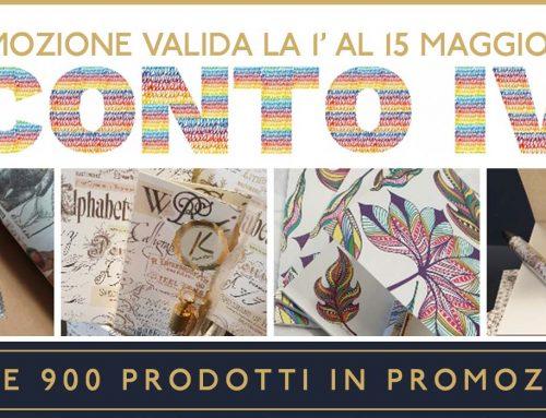 Promo 1-15 maggio: SCONTO IVA!